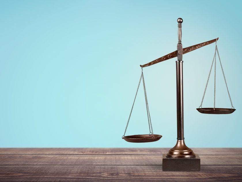 Balance in court