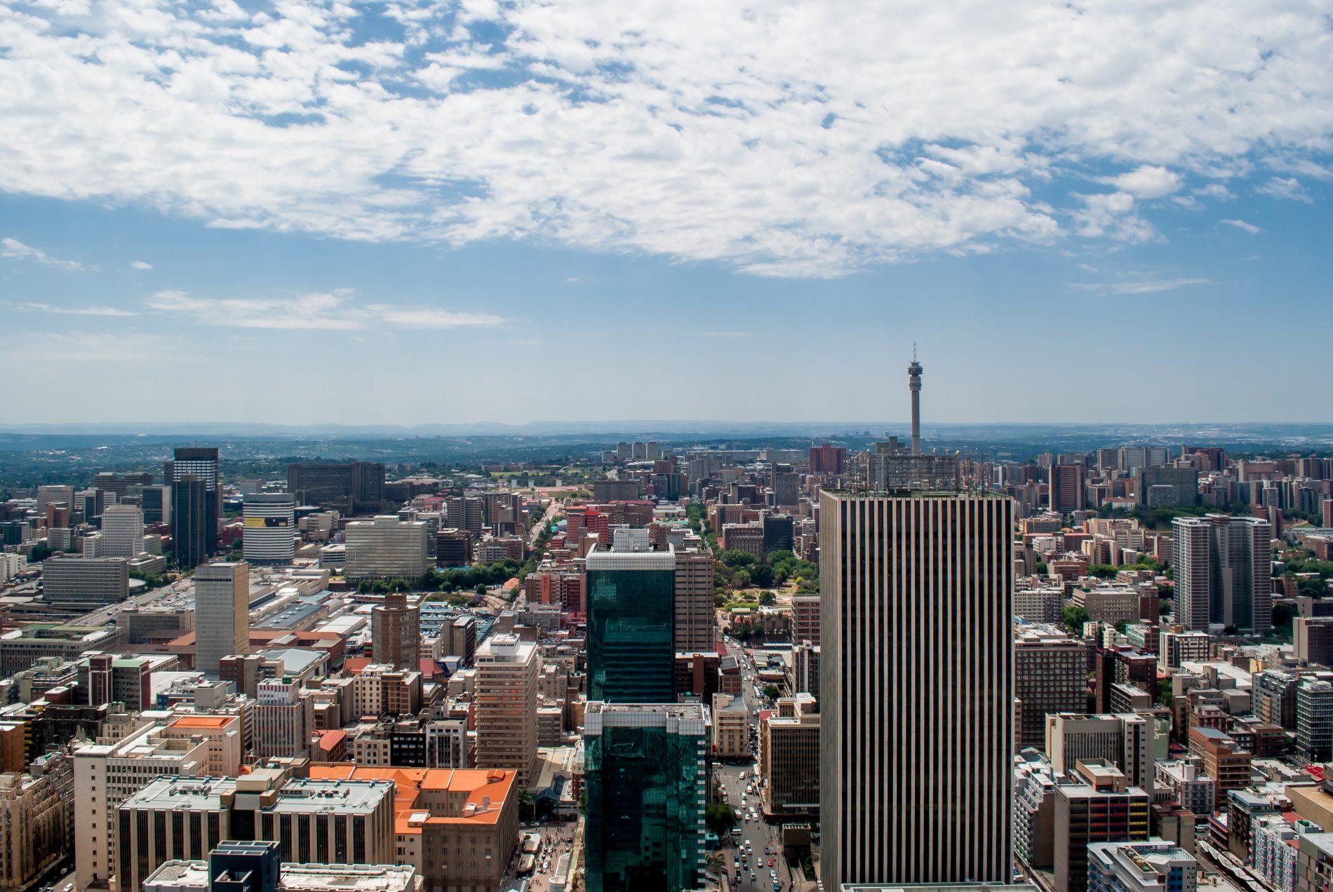 Centrum van Johannesburg