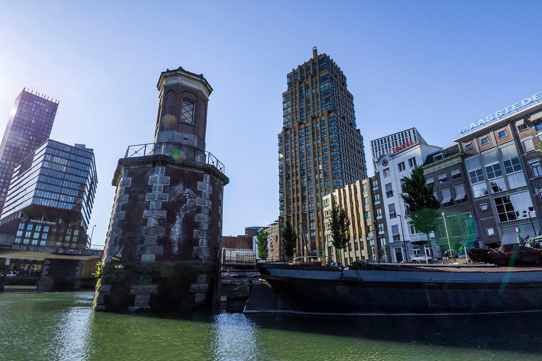 Hoofdkantoor Rebel in Rotterdam