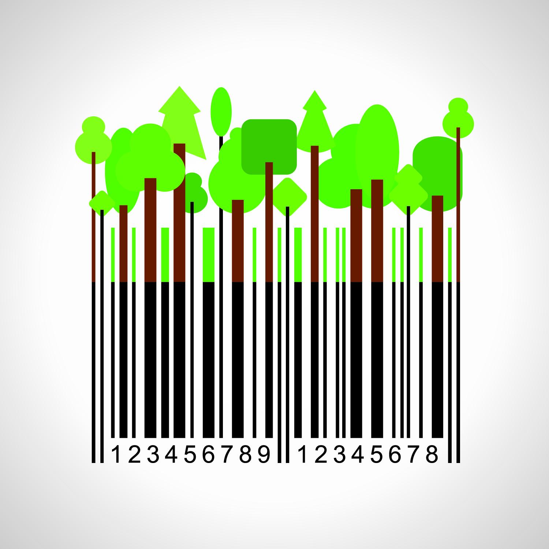 Duurzame streepjescode