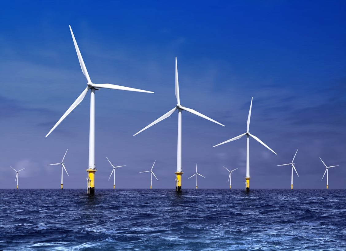 Transaction support for an offshore wind park